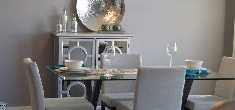 Comedor decorado con Home Staging