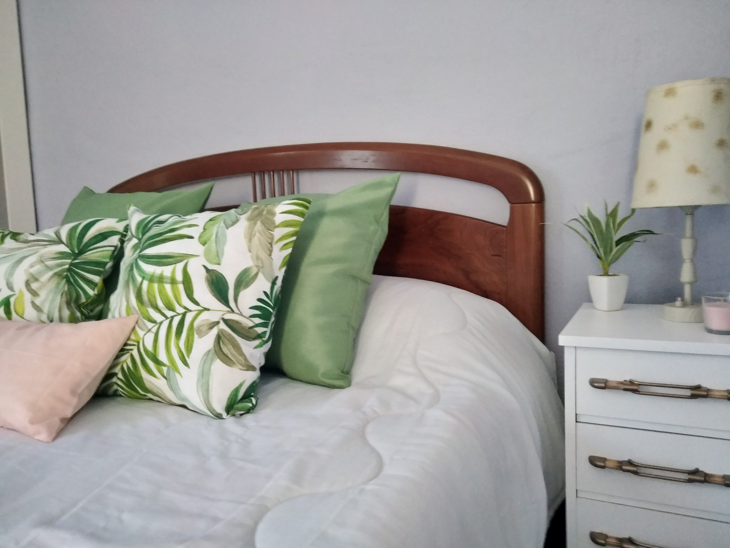 Dormitorio con Home Staging en Burgos